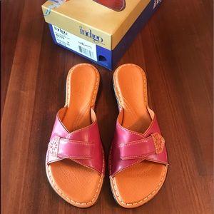 Indigo Orange & Pink Sandal